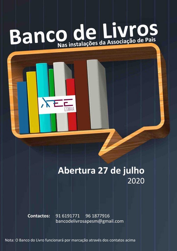 Cartaz Banco de Livros